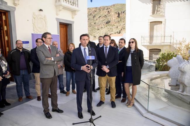 La comarca del Almanzora cuenta desde hoy con una nueva Unidad de Asistencia a Municipios de Diputación