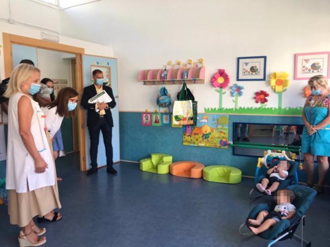 Más de 8.300 menores de tres años inician el curso en Almería