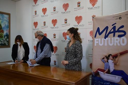 Vícar Convenia Con Inserta Andalucía Actividades Dentro Del Programa 'Más Futuro'