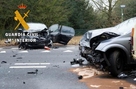 Detenido por grabar y difundir el vídeo de un accidente con un muerto