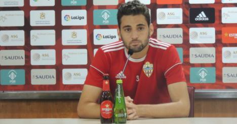 Iván Martos destaca que la UD Almería quiere reencontrarse con el triunfo frente al Lugo