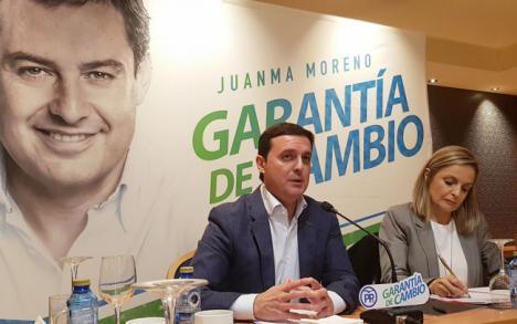 """Javier A. García: """"El 70% quiere cambio político y eso solo lo garantiza el PP"""""""