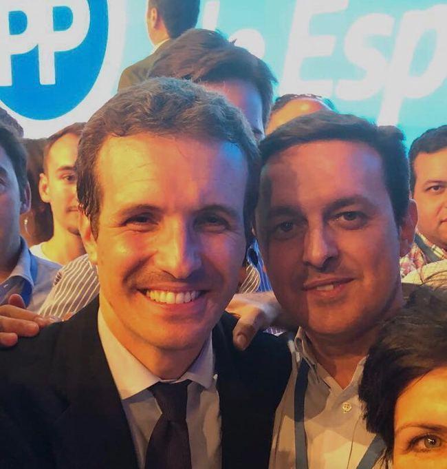 Javier A. García entra el Comité Ejecutivo de Casado en el PP