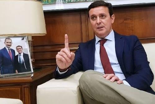 """Javier A. García (PP): """"Quien no quiera que gobierne Sánchez, sólo tiene una opción política, Pablo Casado"""""""