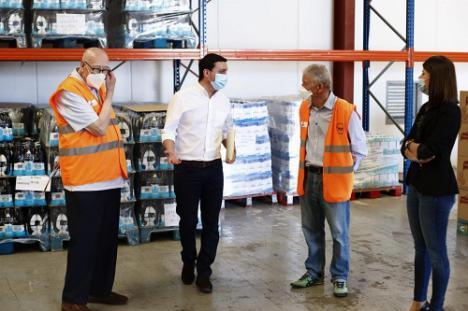 Diputación y Banco de Alimentos fortalecen su unión para atender a los más vulnerables