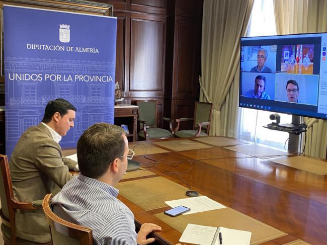 Diputación de Almería y Endesa abordan proyectos de reindustrialización