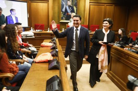 Diputación recibe a 50 jóvenes de cinco países de un proyecto europeo social