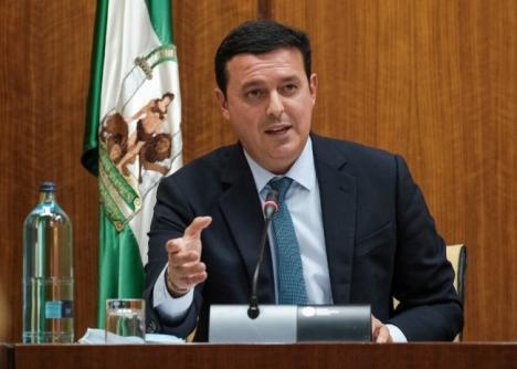 El presidente de Diputación expone en el Parlamento Andaluz la receta almeriense para superar la crisis