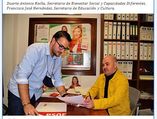 Las mascarillas no son para el PSOE de Adra
