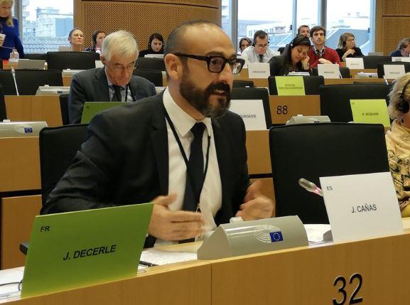 Cs denuncia en el Parlamento Europeo que el contrabando está inundando Almería
