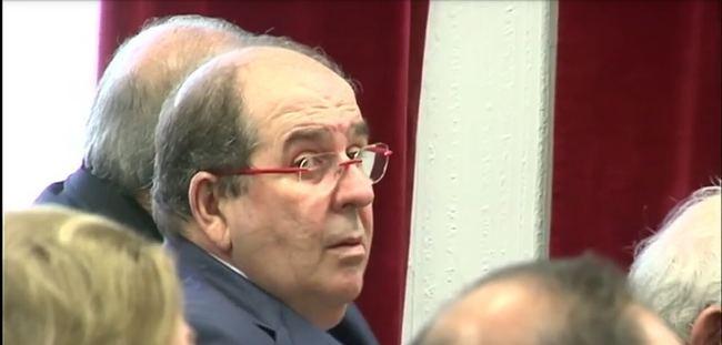 El exinterventor de El Ejido, José Antonio Alemán, en el juicio