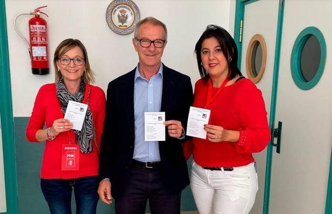 Guirao (PSOE) recorre los municipios de la provincia