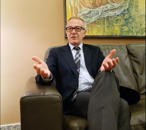 """José Guirao (PSOE): """"No ha habido bloqueo en las infraestructuras de Almería"""""""