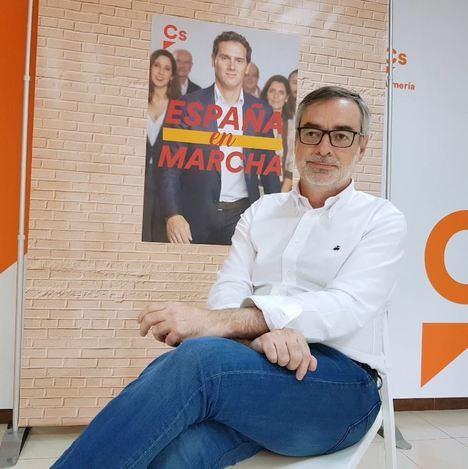 """Villegas (Cs): """"Las políticas de Vox serían perjudiciales para Almería"""""""