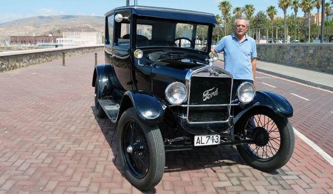 Felipe VI será presidente de honor del 30º Aniversario del Club de Vehículos Antiguos de Almería