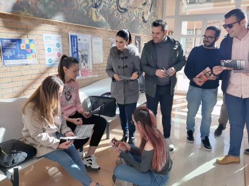 JJSS inicia en Almería una campaña contra el PIN de Vox