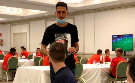 El Almería trabaja con intensidad y ya tiene en el horizonte un nuevo partido
