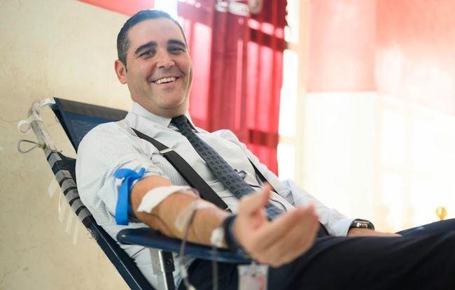 46 donantes de sangre en la colecta hecha en el Ayuntamiento