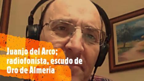 Juanjo del Arco recuerda sus 40 años ante el micrófono