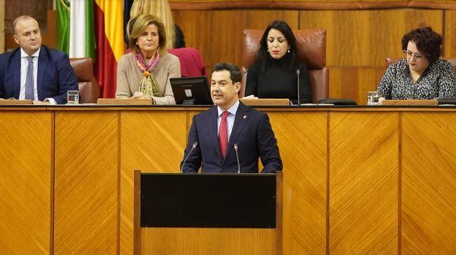 El presidente Moreno detalla los compromisos cumplidos con Almería