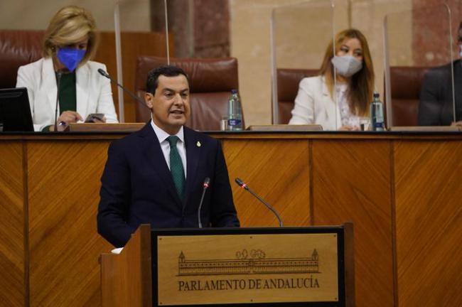 Moreno Bonilla anuncia que el presupuesto de 2021 tendrá partida para derribar el hotel del Algarrobico