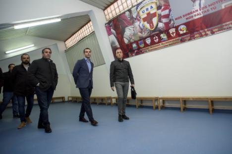 El Estadio Juan Rojas ya luce los nuevos vestuarios y gimnasio