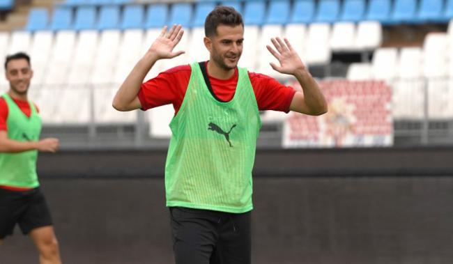 Juan Villar espera mantener en la UD Almería la regularidad goleadora