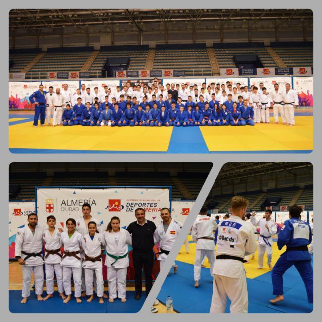 Almería reúne a judocas de toda Europa en un 'Training Camp' en Semana Santa