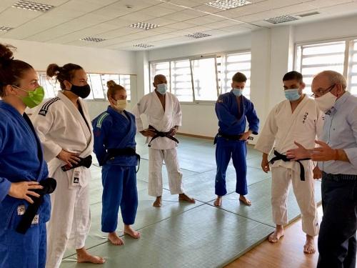 Judocas De Élite Preparan En Vícar Su Camino A Tokio 2021