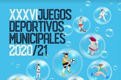 El PMD abre la inscripción para los 36º Juegos Deportivos Municipales