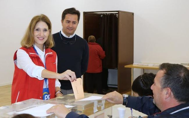 La quinta al Congreso por el PP vota en El Ejido