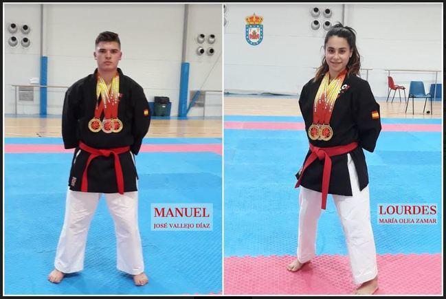 Dos almerienses de Fiñana en la Selección Española de Kenpo