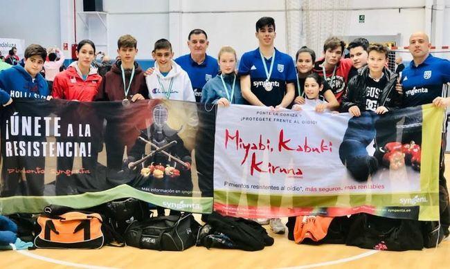 EDM Alianza KSV consigue nueve medallas en el Campeonato de Andalucía de Lucha
