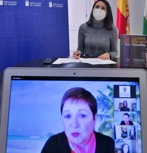 Diputación entrega a Enriqueta Barranco el XXI 'Carmen de Burgos'