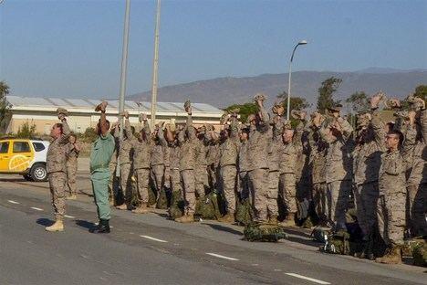 Vuelve la Legión que instruyó al ejercito iraquí