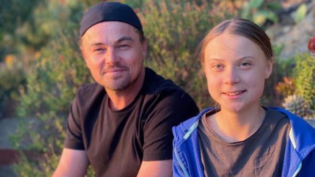 Pantalla Verde aplaude el encuentro entre Leonardo Dicaprio y Greta Thunberg