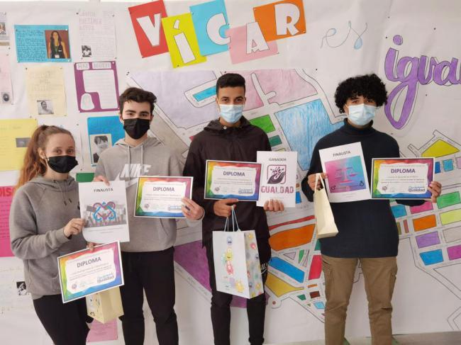 El Alumno Abderrahim El Kourchi Ganador Del I Concurso De Logotipos De Igualdad Del IES Puebla De Vícar