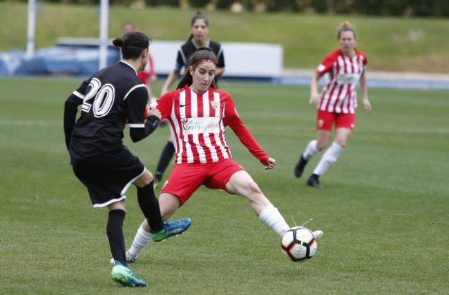 Lorena González, delantera del Almería femenino, sufre una grave lesión