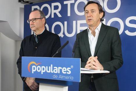 PP reclama al Gobierno un plan estratégico contra el desempleo por el cierre de la central de Carboneras