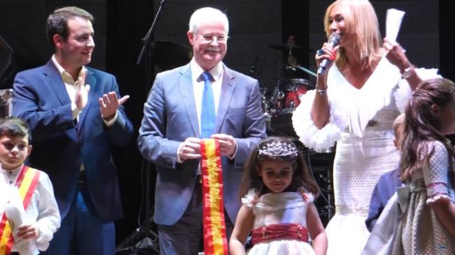 Fernando Giménez pregona las fiestas de Lucainena de las Torres