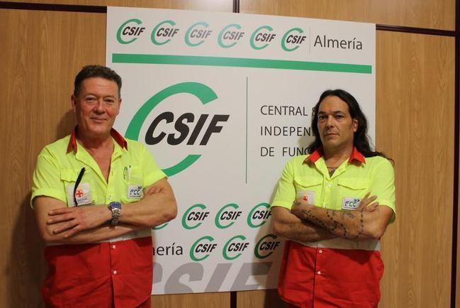 CSIF arrasa en las elecciones de FCC Medio Ambiente Almería
