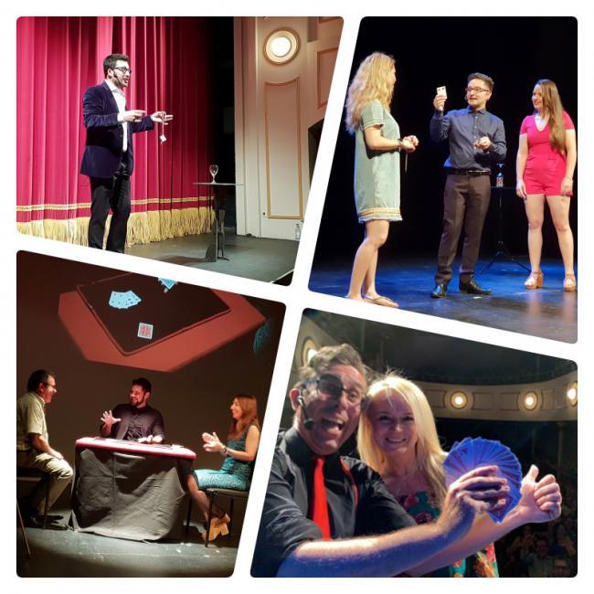 El póker de magos de la segunda gala de 'Almería Mágica' fascina al público del Apolo