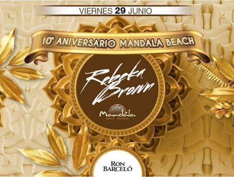 10º aniversario de Mandala Beach Mojácar