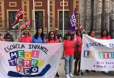 PSOE exige al Gobierno andaluz que asuma las trabajadoras de escuelas infantiles despedidas y sin paro