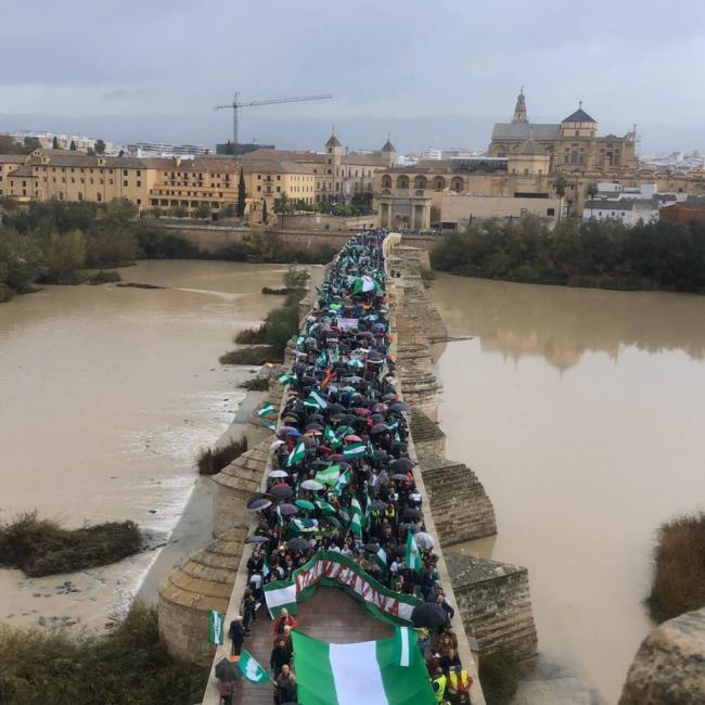 5.000 personas reivindican la dignidad de Andalucía