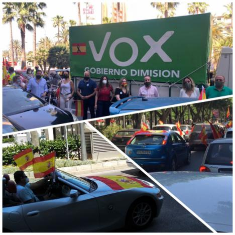 De Meer dice que la manifestación de Vox expresa