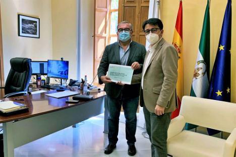 La Diputación recibe a la nueva asociación de productores de eventos de Andalucía