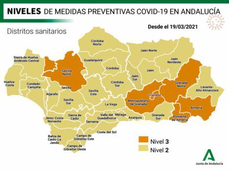 130 nuevos contagios covid-19 en Almería