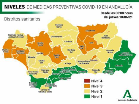 Solo 3 contagios de covid-19 en Almería