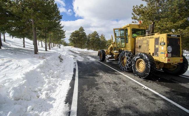 Diputación activa el Plan de Vialidad Invernal